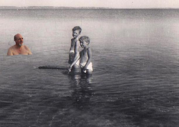 1950 på badetur til Rørvig