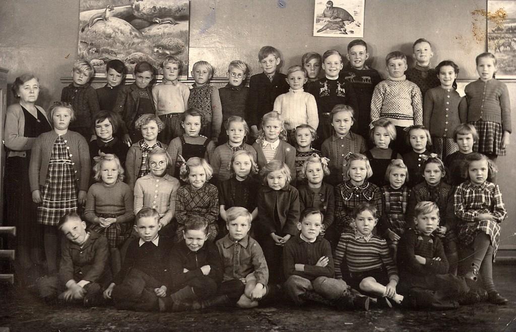 1951 skolefoto