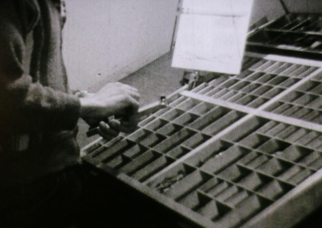1961 Typograf.2 Håndsætter