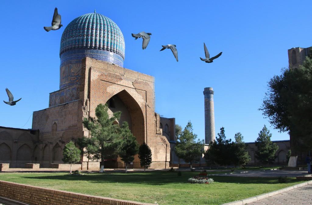 2. Samarkand (15)  (Bibi Khanym Mosque)