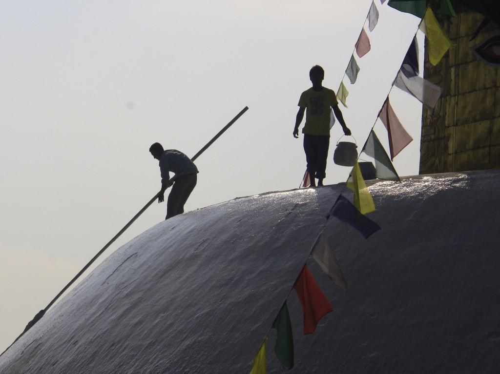 2011 Nepal (45) Kathmandu Swayambhunath
