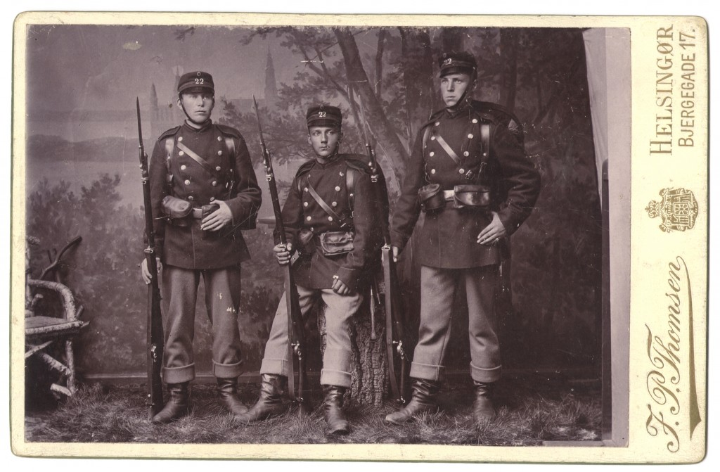 22 August Nielsen Soldater 1893-94 b