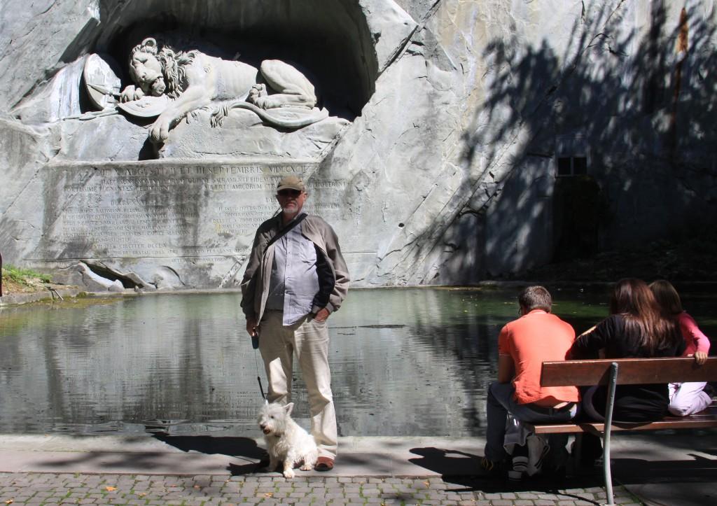 Thorvaldsens Schweizerløve i Luzern
