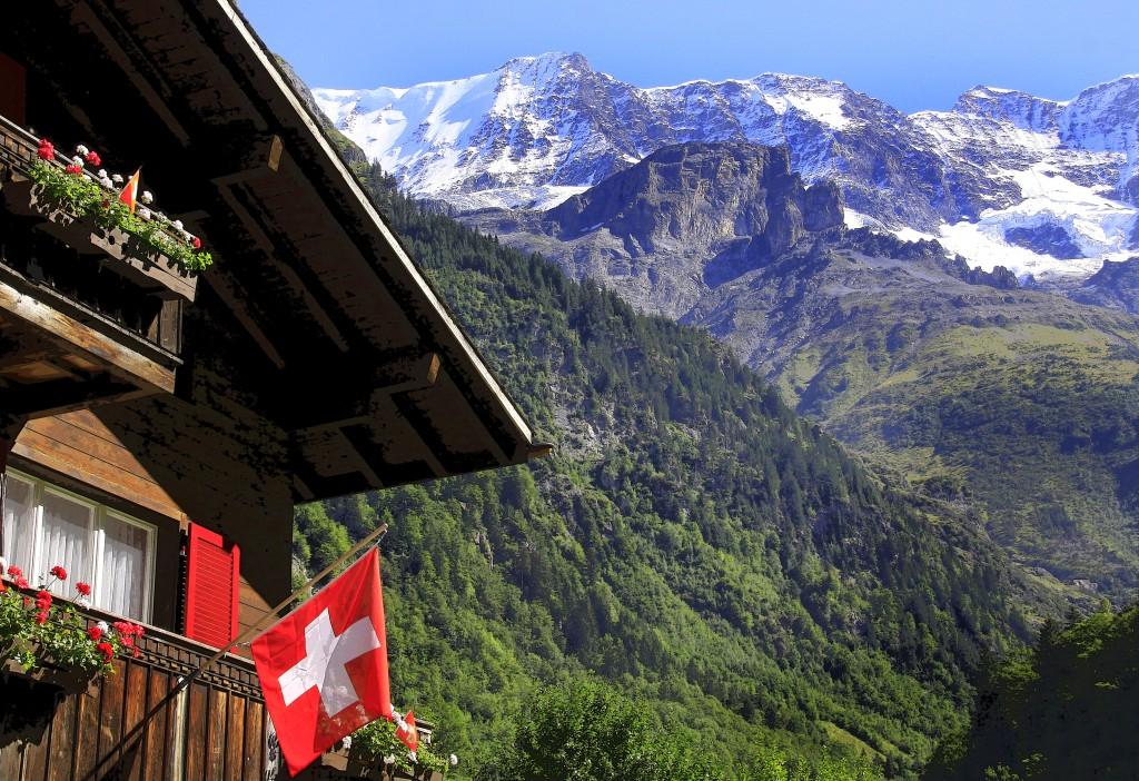 Det er bare Schweiz