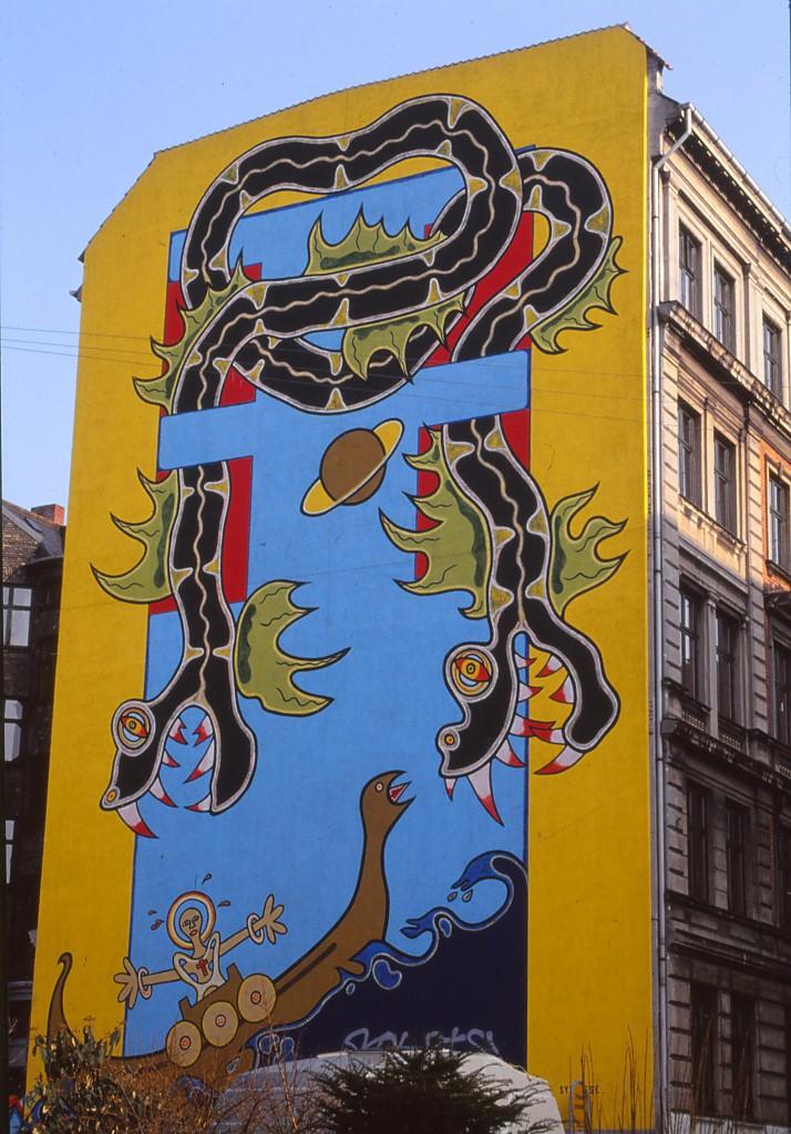 Ahlefeldtsgade København Nansensgade 1992 3