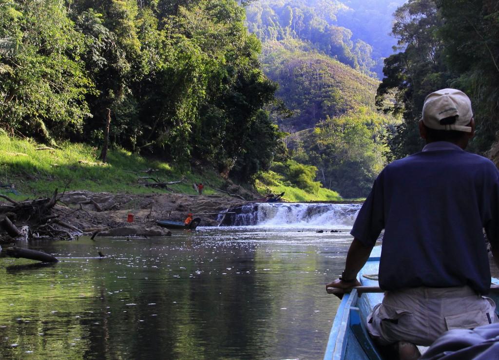 Flodtur med Ibanfolket (1)