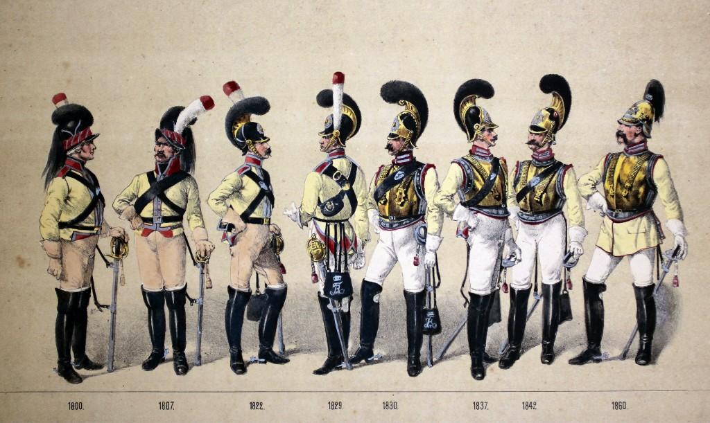 Kgl. Livgarde til hest (menige) (2)