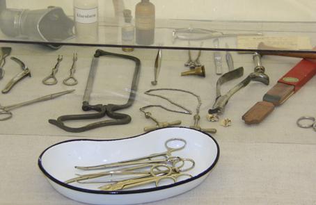 Datidens remedier og medicinske udstyr.